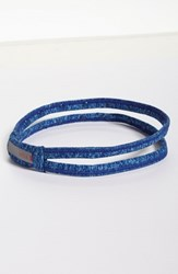 Zella 'Double The Fun' Headband Blue