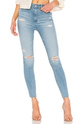 Ag Adriano Goldschmied Mila Ankle Jean 20 Years Oceana Destructed