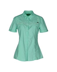 Meltin Pot Short Sleeve Shirts Light Green