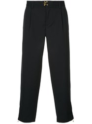 Kolor Cropped Tailored Trousers Blue