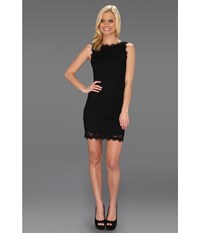 Rsvp Liona Lace Dress Black Women's Dress