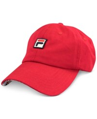 Fila Logo Patch Hat Red