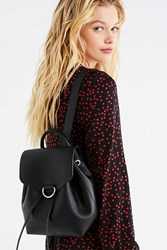 Urban Outfitters Mellie Faux Leather Mini Backpack Black