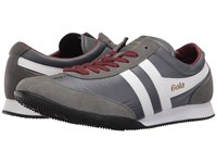Gola Wasp Grey White Burgundy Men's Shoes Gray