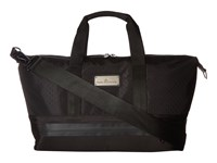 Adidas By Stella Mccartney Small Gym Bag Black Gunmetal Granite Tote Handbags