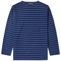 Armor Lux 1525 Long Sleeve Loctudy Tee Blue