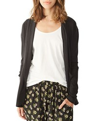 Alternative Apparel Open Front Knit Cardigan Eco True