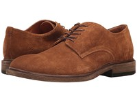 Frye Chris Oxford Copper Oiled Suede Men's Shoes Brown