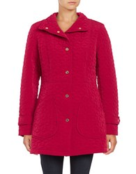 Gallery Quilted Jacket Ruby