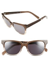 Shwood Women's 'Prescott' 52Mm Acetate And Wood Polarized Sunglasses