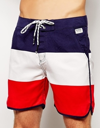 Voi Jeans Voi Beacon Stripe Swim Shorts