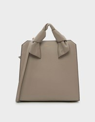 Charles And Keith Soft Handle Tote Bag Taupe
