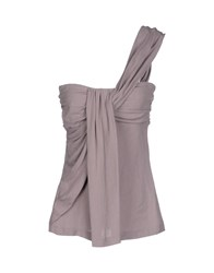 See By Chloe See By Chloe Topwear Tube Tops Women Dove Grey