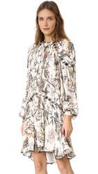 Zimmermann Karmic Aura Mirror Mini Dress Floral