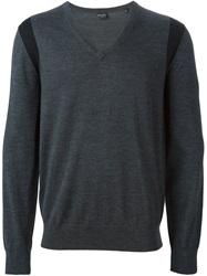 Ps Paul Smith V Neck Sweater Grey