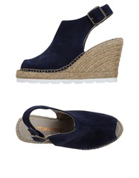 Macarena Footwear Sandals Dark Blue