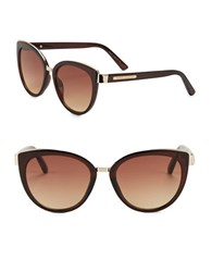 Vince Camuto 57Mm Cat Eye Sunglasses Brown
