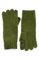 Echo Women's 'Touch' Stretch Fleece Tech Gloves Chive