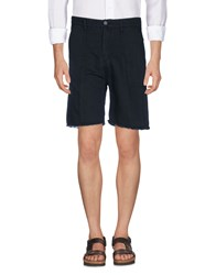 M.Grifoni Denim Trousers Bermuda Shorts Black