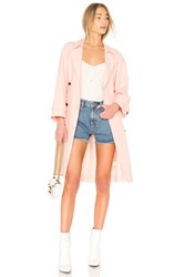 Joie Damonica Trench Rose