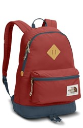 The North Face Berkeley Backpack Red Bossa Nova Red Conquer Blue