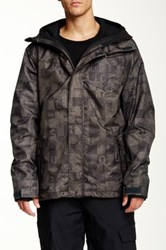 Quiksilver Missions Snow Jacket Green