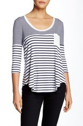 Fate Striped Tee Multi