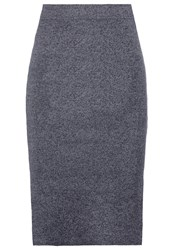 Vila Violympa Pencil Skirt Ebony Dark Grey