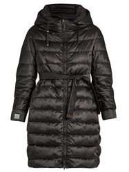 Max Mara Novecap Reversible Coat Black
