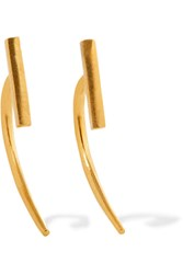 Chan Luu Gold Plated Earrings One Size