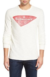 Men's Lucky Brand 'Budweiser' Graphic Long Sleeve Thermal T Shirt