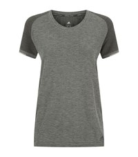 Adidas Primeknit Running Shirt Female Grey