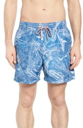 Maaji Corduroy Sea Reversible Swim Trunks Blue