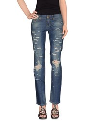 Dandg Denim Denim Trousers Women