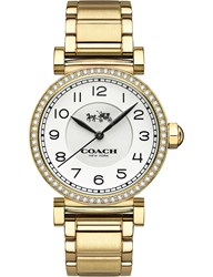 Coach 14502397 Madison Gold Plated Stainless Steel Watch