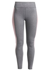 Casall Tights Dark Grey Melange Mottled Grey