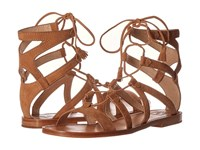 Frye Ruth Gladiator Short Sandal Sand Suede Women's Sandals Tan