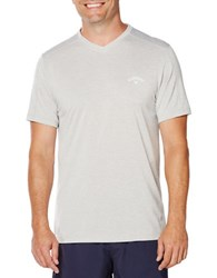 Callaway Training Short Sleeve V Neck T Shirt High Rise