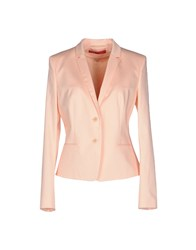 Hugo Boss Suits And Jackets Blazers Women Salmon Pink