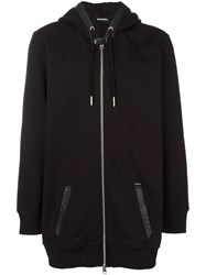 Diesel Hooded Jacket Black