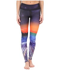 Onzie City Of Angels Graphic Leggings City Of Angels Women's Casual Pants Multi