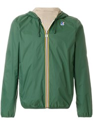 K Way Le Vrai Leon 3.0 Rain Jacket Green