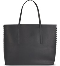 Rick Owens Cyclops Large Leather Shopper Black
