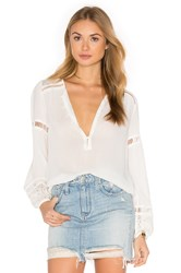 Spell And The Gypsy Collective Olivia Lace Top White