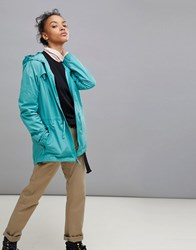 Patagonia Merriweather Hoody Jacket In Blue Beryl Green