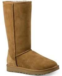 Ugg Classic Ii Genuine Shearling Lined Tall Boot Chestnut