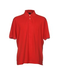 Mosaique Polo Shirts Red