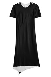 Dkny Reversible Maxi Dress Black