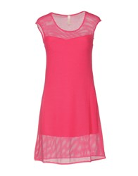 Lunatic Short Dresses Fuchsia