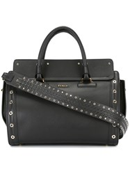Furla 'Valentina' Satchel Bag Black